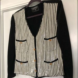 Authentic CHANEL Sequined Jacket